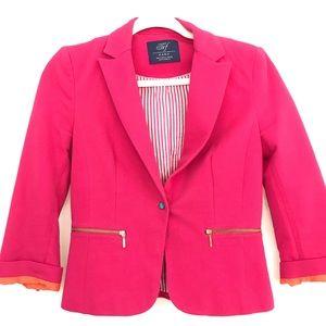 SALE❗️ZARA Hot Pink Blazer, Small